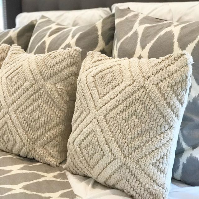 Better Homes And Gardens Natural Diamond Pillow Walmart Finds Delectable Better Homes And Gardens Decorative Pillows