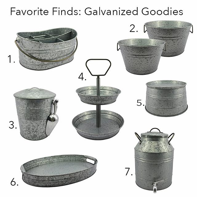 So Many Great Galvanized Pieces By Bhglivebetter In Store And Online At Walmart And The Ever So Popular Tiered Tray All Of These Pieces Qualify For
