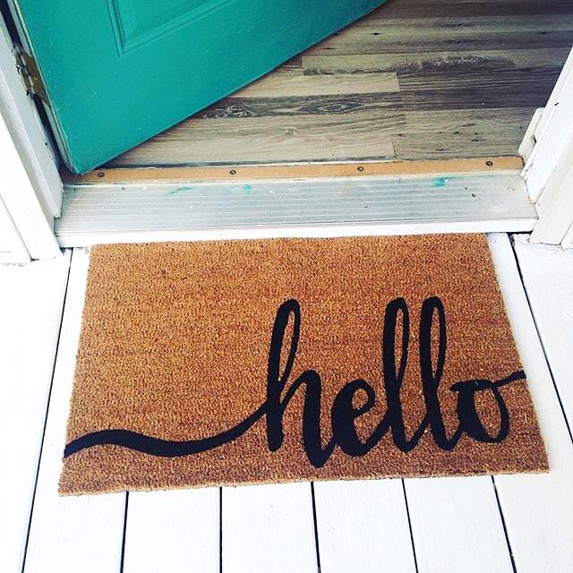 Mainstays Hello Doormat Walmart Finds