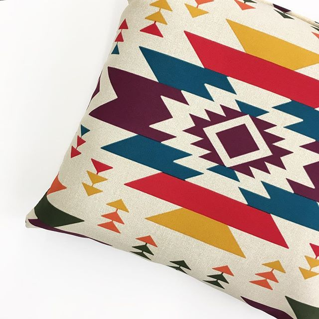 Mainstays Southwestern Outdoor Pillow Walmart Finds