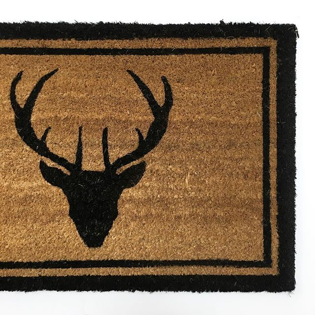 Holiday Time Stag Doormat
