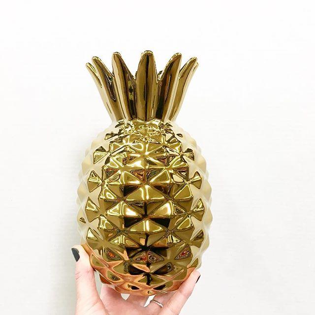 Gold Pineapple Vase Walmart Finds