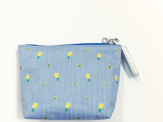 ebaf05202c6d29 Modella Pineapple Travel Pouch