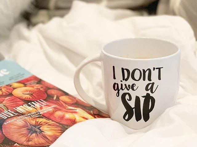"""""""I Don't Give A Sip"""" Jumbo Mug"""