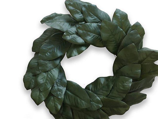 Holiday Time 22″ Magnolia Wreath