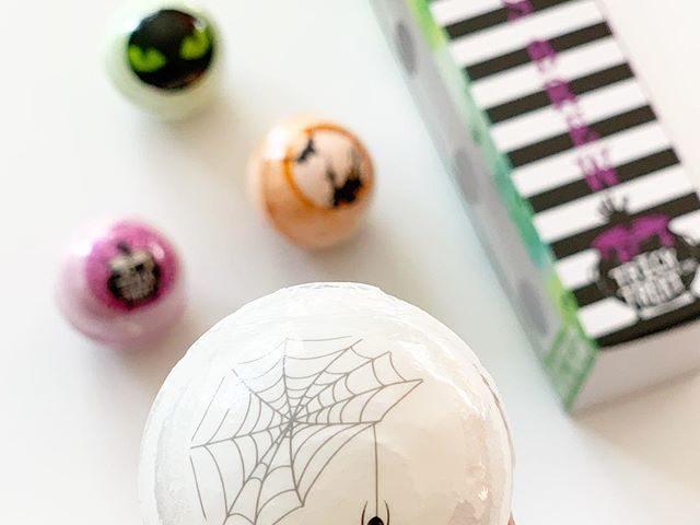 Onyx Bathhouse Halloween Bath Bomb Set