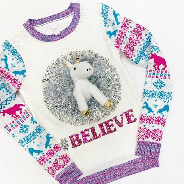 Unicorn Christmas Sweater